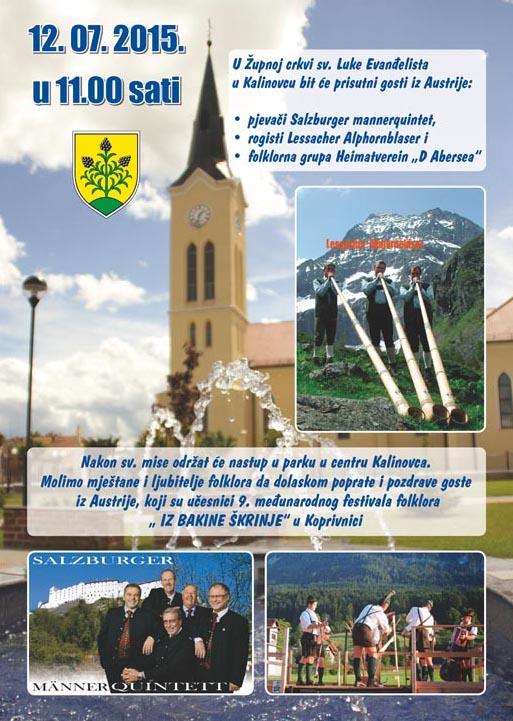 LokalnaHrvatska.hr Kalinovac Ucesnici 9. medunarodnog festivala folklora � IZ BAKINE sKRINJE� u Kalinovcu