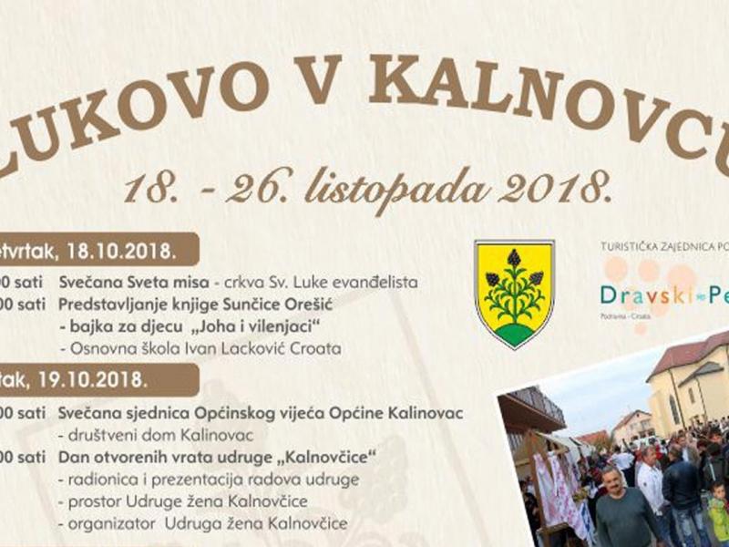 Lukovo v Kalnovcu 18. - 26. listopada 2018.