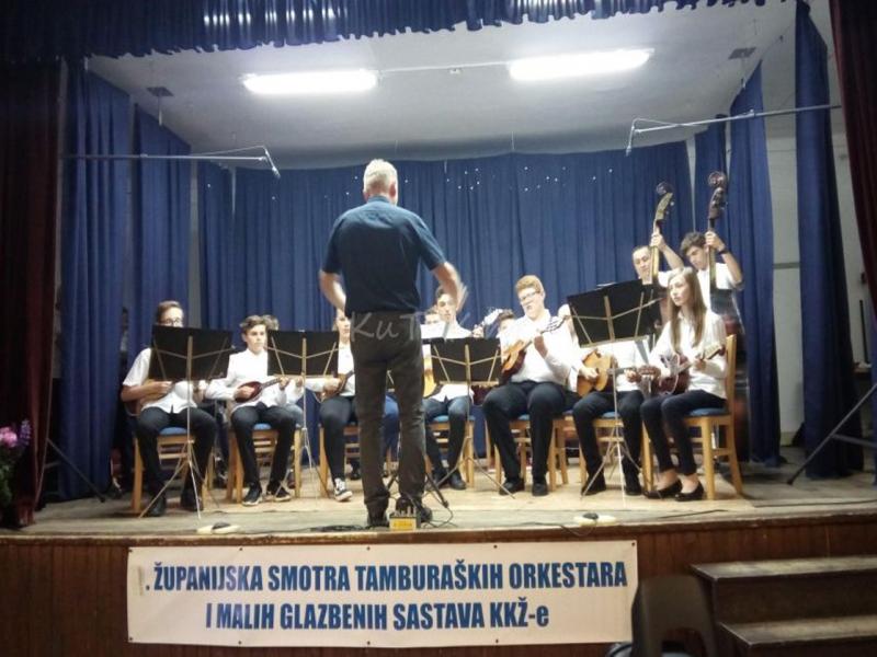 Održana Županijska smotra tamburaških orkestara i malih glazbenih sastava