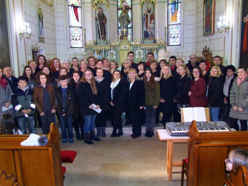 Druženje župnih zborova Kalinovca i Budrovca