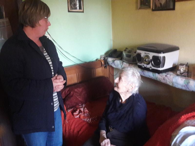 Posjeta starijih i potrebitih