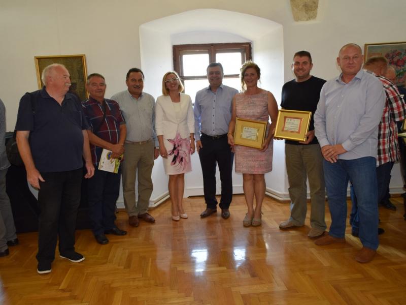 Članovi Poljoprivredne udruge Kalinovac na 5. međunarodnoj izložbi Zlatnih vina Alpe Adria 2018