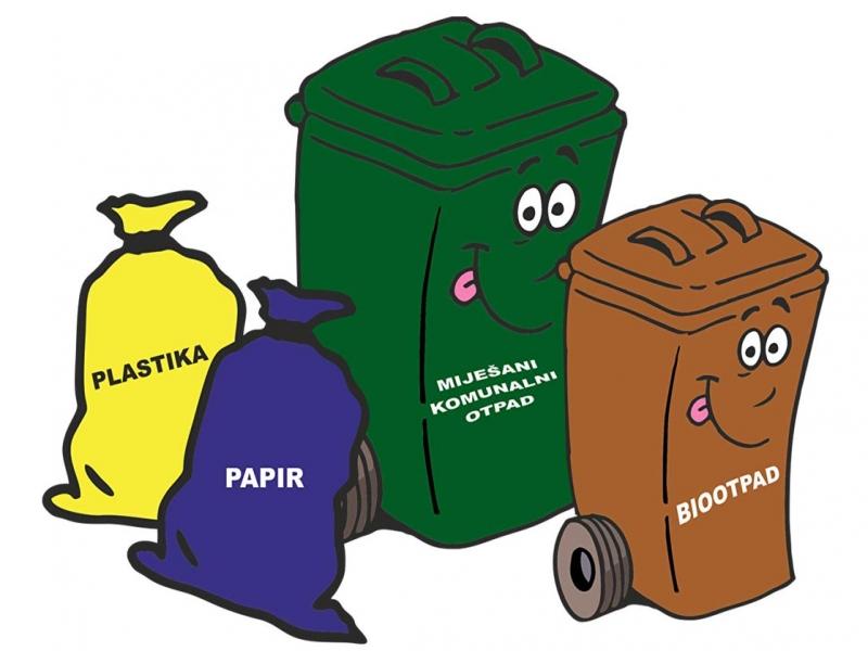 Općini Kalinovac odobren projekt za nabavu spremnika za odvojeno prikupljanje otpada