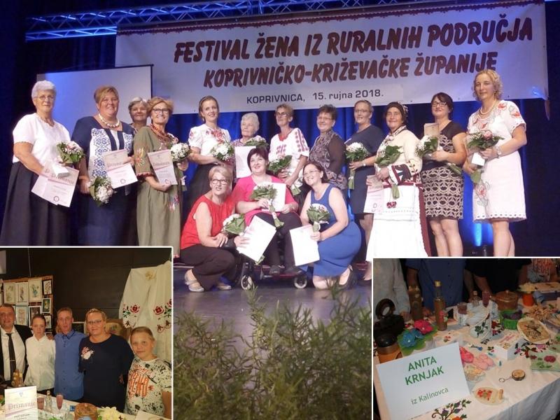 Anita Krnjak na Festivalu žena iz ruralnih područja KKŽ